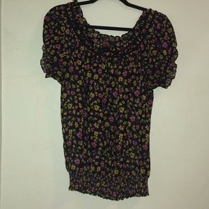 Forever 21 M Floral Top